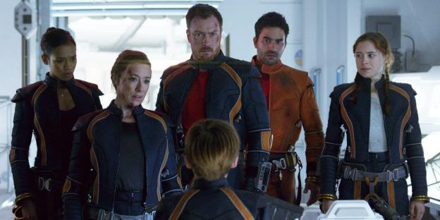 Image result for lost in space 2018 cast